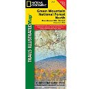 Trails Illustrated Map - Green Mountain National Forest North