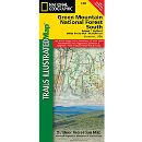 Trails Illustrated Map - Green Mountain National Forest South