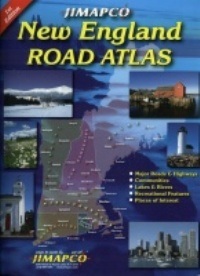 Jimapco New England Road Atlas