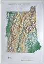Raised Relief Map: Vermont/New Hampshire