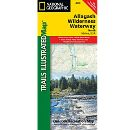Trails Illustrated Map: Allagash Wilderness Waterway North