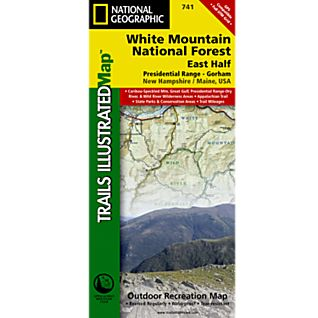 Trails Illustrated Map: White Mountain National Forest, East Half